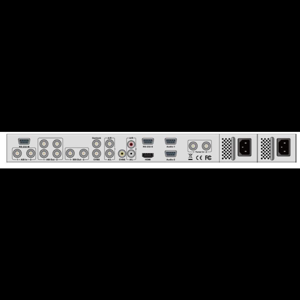 Приёмник цифровой PBI DCH-5500P