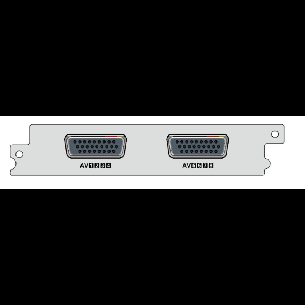 8-канальный  CVBS SD/HD H.264 энкодер для  DCP-1000Pro