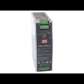 DDR-240B-24, DC/DC преобразователь, 60Вт, вход 16,8-33,6В, выход 24В/10А Mean Well