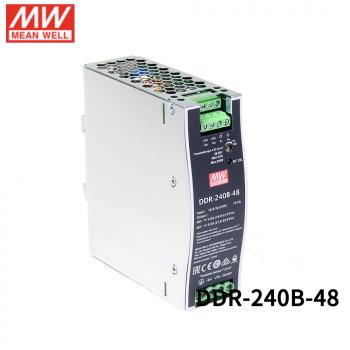 DDR-240B-48 Преобразователь: DC/DC; 240Вт; Uвх:16,8 - 33,6.В; Uвых:48ВDC; Iвых:5А, Mean Well