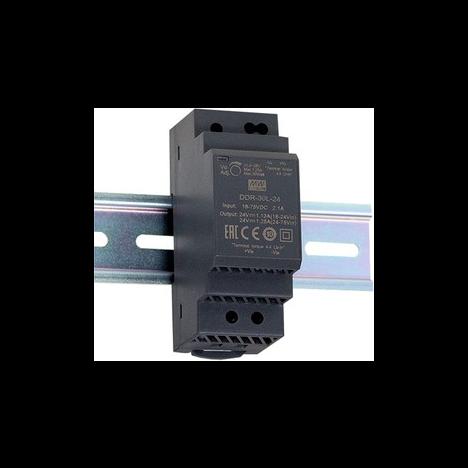 DDR-30G-12, DC/DC преобразователь, 30Вт, вход 9-36В,выход 12В/2,5А Mean Well