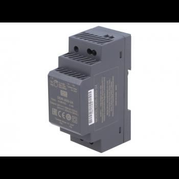 DDR-30G-24, DC/DC преобразователь, 30Вт, вход 9-36В, выход 24В/1,25А Mean Well