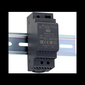 DDR-30G-5, DC/DC преобразователь, 30Вт, вход 9-36В,выход 5В/6А Mean Well