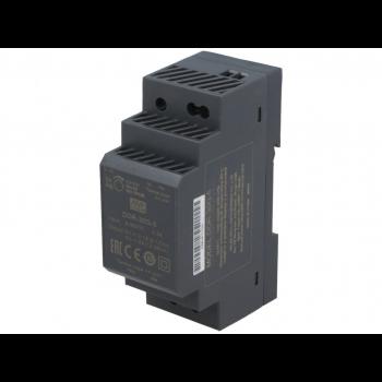 DDR-30G-5, DC/DC преобразователь, 30Вт, вход 9-36В, выход 5В/6А Mean Well