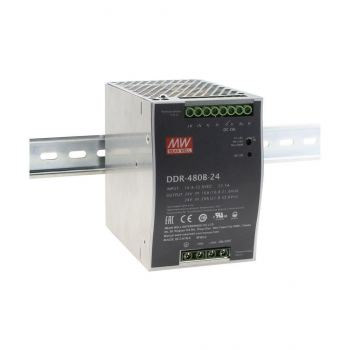 DDR-480B-24 Преобразователь: DC/DC; 480Вт; Uвх:16,8-33,6В; Uвых:24ВDC; Iвых:20А, Mean Well