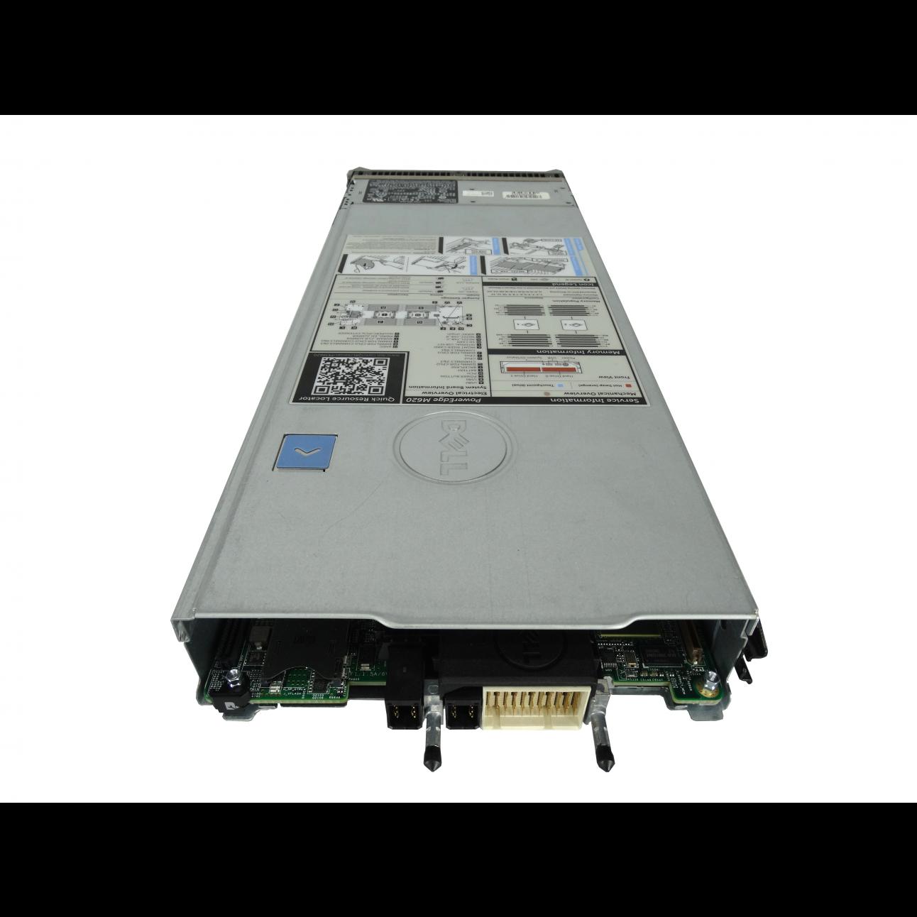 Блейд-сервер DELL PowerEdge M620, 2 процессора Intel 8C E5-2650L 1.80GHz, 16GB DRAM, PERC H310, 2x10Gb 57810-k