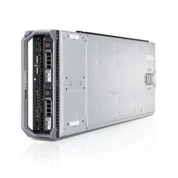 Блейд-сервер DELL PowerEdge M620, 2 процессора Intel 6C E5-2667 2.90GHz, 64GB DRAM, PERC H710, 2x10Gb 57810-k