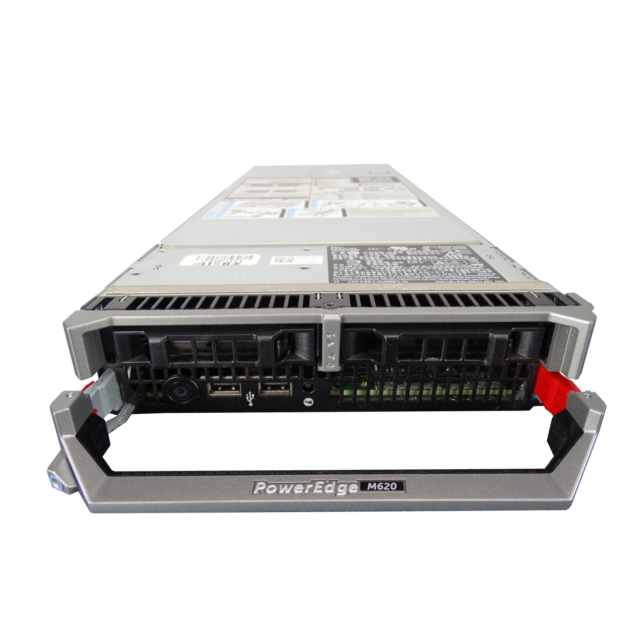 Блейд-сервер DELL PowerEdge M620, 2 процессора Intel 10C E5-2680v2 2.80GHz, 64GB DRAM, PERC H310, 2x10Gb 57810-k