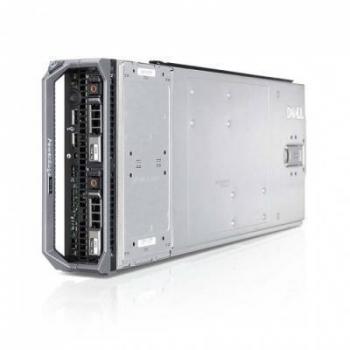 Блейд-сервер DELL PowerEdge M620, 2 процессора Intel 10C E5-2680v2 2.80GHz, 64GB DRAM, PERC H310, 2x10Gb 57810-k