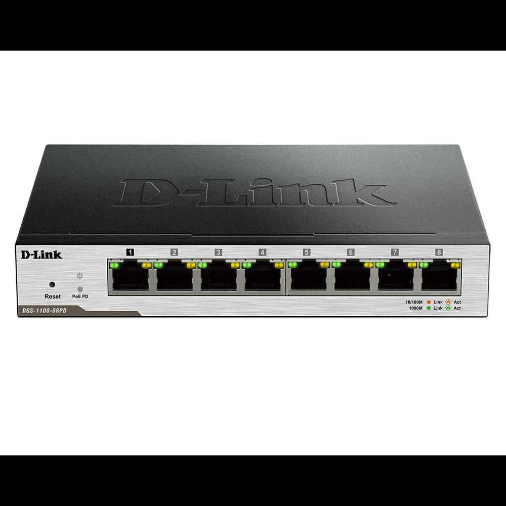 Коммутатор D-Link DGS-1100-08PD
