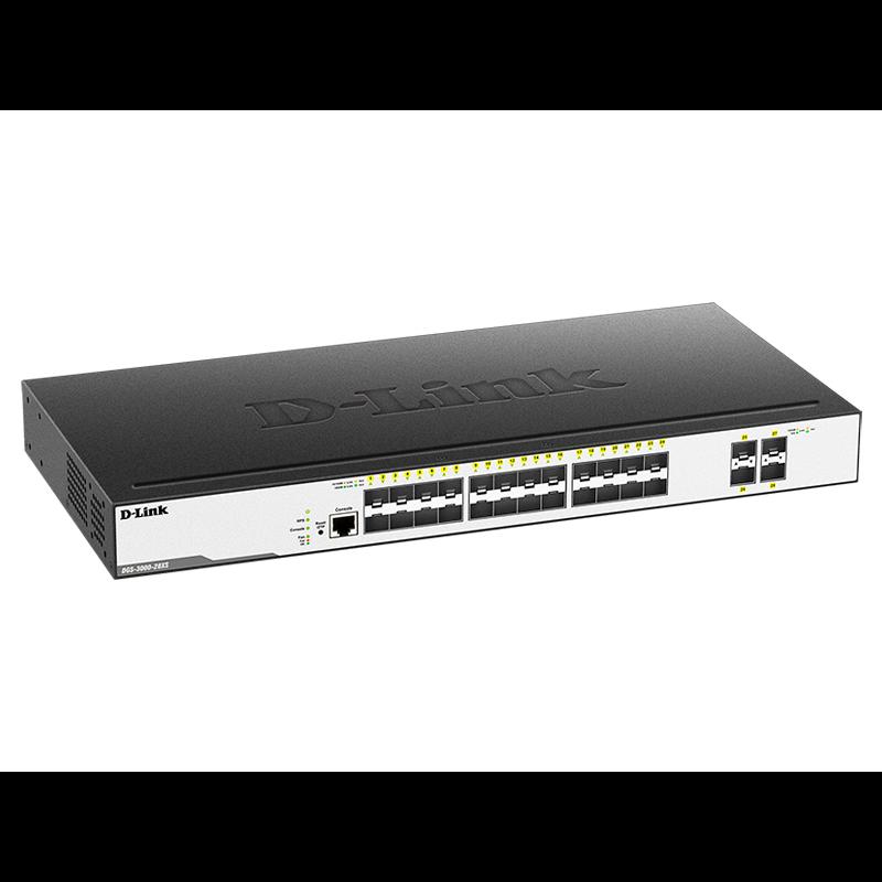 Коммутатор D-Link DGS-3000-28XS/B1A