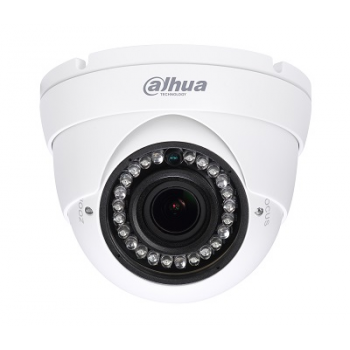 HDCVI купольная камера Dahua DH-HAC-HDW1200RP-VF 1080p, 2.7-12мм, ИК до 30м, 12В