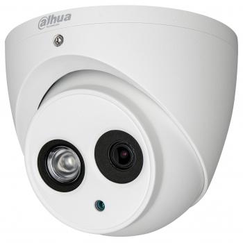 Мультиформатная купольная мини камера Dahua DH-HAC-HDW1220EMP-A-0280B-S3 HDCVI/HDTVI/AHD/CVBS, 1080p @ до 30 к/с , 2.8 мм, ИК до 50м, 12 В