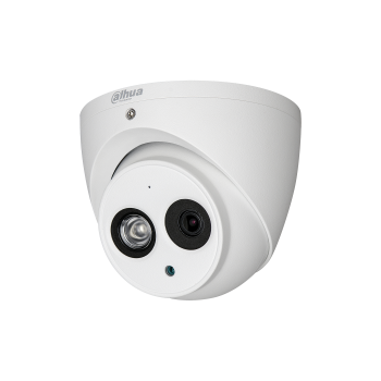 Мультиформатная купольная мини камера Dahua DH-HAC-HDW1220EMP-A-0360B 2Мп, 1080p до 25к/с, 3.6мм, ИК до 50м, 12В, IP67