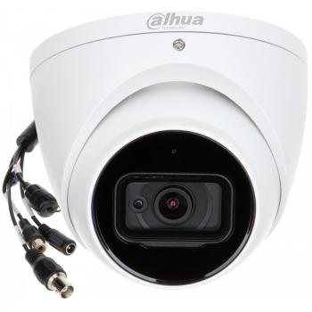 HDCVI купольная камера DH-HAC-HDW2241TP-A-0280B 2Мп, фикс. объектив 2.8мм, ИК до 50м, WDR 120дБ, встр. микр, DC12В, WDR, IP67
