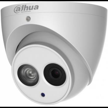 HDCVI купольная мини камера Dahua DH-HAC-HDW2401EMP-A-0280B 4Мп, WDR 120дБ, 2.8мм, встр. микр., ИК до 30м, 12В