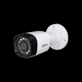 Уличная HDCVI видеокамера DAHUA DH-HAC-HFW1000RP-0280B-S3 1Мп, фикс. объектив 2.8мм, DWDR, ИК до 20м, DC12В, IP67