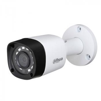 HDCVI уличная камера Dahua DH-HAC-HFW1220RMP-0360B 2Мп, 1080p, фикс.объектив 3.6мм, ИК до 20м, 12В, IP67, DWDR