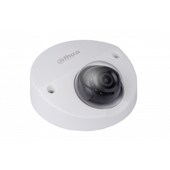 IP камера Dahua DH-IPC-HDBW4421FP-AS-0280B уличная мини 4Мп, объектив 2.8мм, ИК подсветка, PoE, тревожные и аудио входы/выходы (уценка)