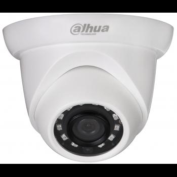 IP-камера видеонаблюдения купольная Dahua DH-IPC-HDW1220SP-0280B 1080p/D1/CIF (1~25 к/c), 0.1 лк / F2.0 (цвет), ИК до 30 м., DC12В/PОE; IP67