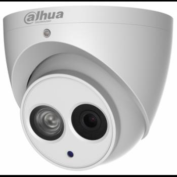 IP камера Dahua DH-IPC-HDW4431EMP-ASE-0280B купольная 4Мп, фикс. объектив 2.8мм, ИК до 50м, WDR 120дБ, встр. микр., PoE, IP67, MicroSD до 128Гб