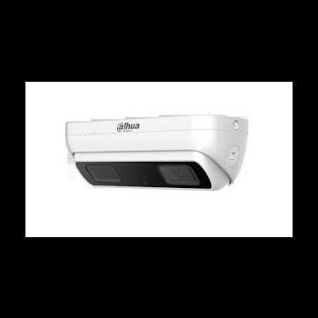 "IP камера Dahua DH-IPC-HDW8341XP-3D c двумя объективами, 2x1/2.8"" 3Mп CMOS, фикс.объектив 2.8мм, ИК 10м, видеоаналитика, подсчет посетителей, MicroSD"