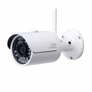 IP камера Dahua DH-IPC-HFW1000SP-W-0360B уличная мини 1.0Мп, объектив 3.6мм,wi-fi