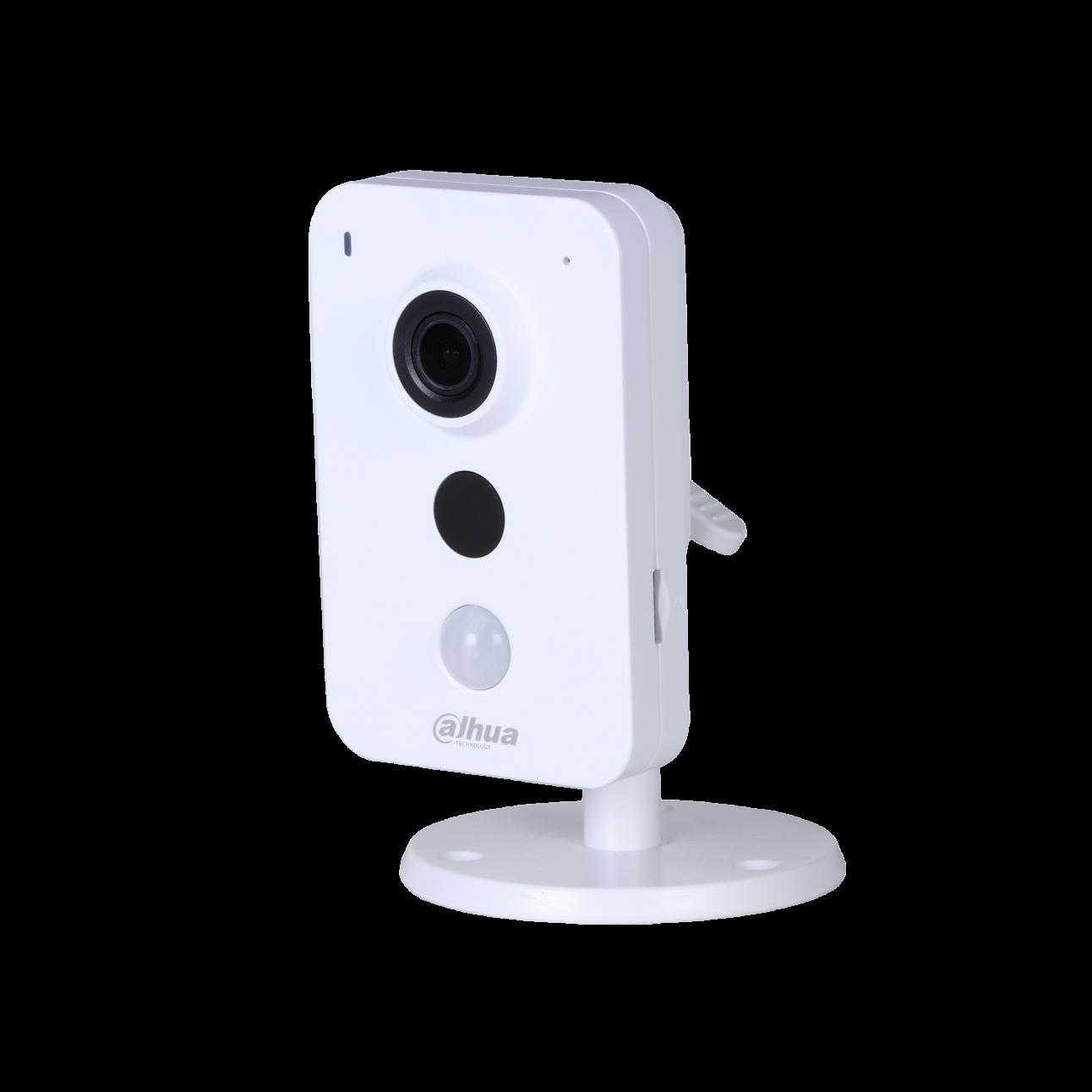 Wi-Fi камера Dahua DH-IPC-K35P миникуб 3Мп, объектив 2.8мм, 12В, microSD, встр. микрофон/динамик, DWDR, ИК до 10м