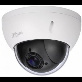 IP скоростная поворотная камера Dahua DH-SD22204T-GN 2Мп, 1080p, 4-х кратное опт. увеличение, WDR, DC12В, PoE, IP66, IK10