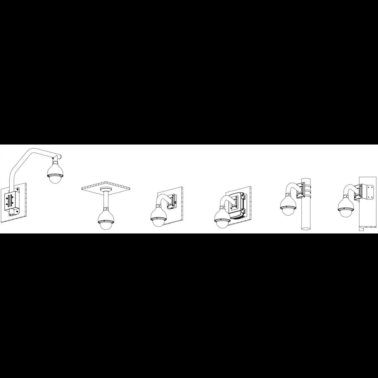 IP камера Dahua DH-SD50230T-HN скоростная купольная поворотная EcoSavy 2 2Мп с 30x оптическим увеличением ,PoE+ (б/у, после СЦ)