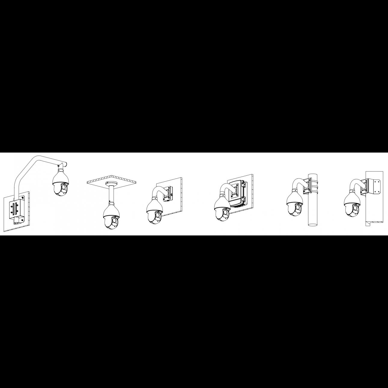 IP камера поворотная PTZ Dahua DH-SD59430U-HNI 4 Мп с 30x оптическим увеличением, 25 к/с @ 4/3 Мп, 50 к/с @ 1080p, H.265, ИК-подсветка до 100 м, PoE+