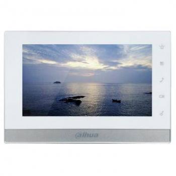 IP монитор для видеодомофона Dahua DH-VTH1550CH 7 дюймов, 10/100mb, 6 тревожных входов, поддержка PoE, поддержка SD карт