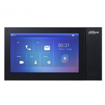IP монитор для видеодомофона Dahua DH-VTH2421FB 7 дюймов, трев.вх/вых 6/1, LAN, DC12В
