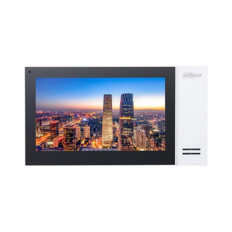 IP монитор для видеодомофона Dahua DH-VTH2421FW 7 дюймов, трев.вх/вых 6/1, LAN, DC12В