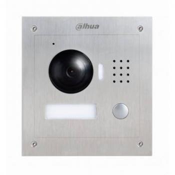 IP вызывная панель видеодомофона Dahua DH-VTO2000A 1.3Мп, ночной режим, вандалозащищенная, IP54, IK07, врезной и накладной монтаж, DC 12В
