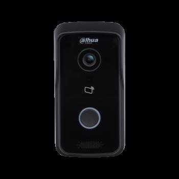 Wi-Fi вызывная панель видеодомофона Dahua DH-VTO2111D-WP 1Мп, IP65, объектив 2.2мм, накладной монтаж