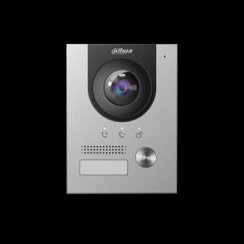 IP вызывная панель видеодомофона Dahua DH-VTO2202F-P 2Мп, IP65, IK07, DC12В, PoE