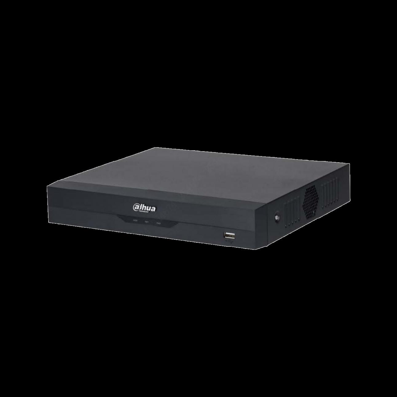 Гибридный видеорегистратор 4-канальный Dahua DH-XVR5104HS-4KL-I3, IP до 8 каналов