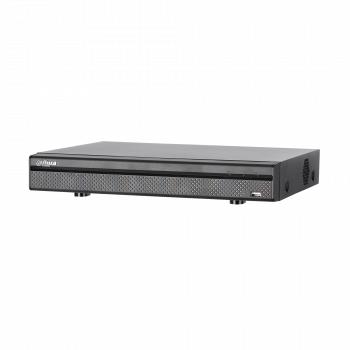 8-канальный HDCVI видеорегистратор Dahua DH-XVR5108HE-X HDCVI+AHD+TVI+IP+CVBS, 1xHDD до 10Тб, поддержка до 12 IP камер 6Мп, 2 порта USB 2.0, DC12В