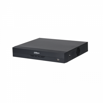 Гибридный видеорегистратор 8-канальный Dahua DH-XVR5108HS-4KL-I2, IP до 16 каналов