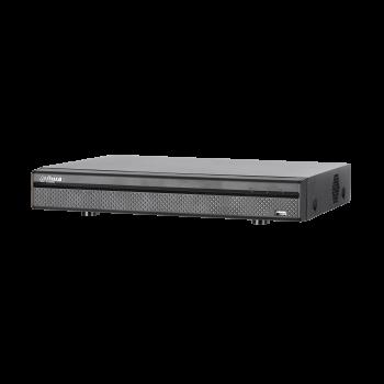16-канальный видеорегистратор DH-XVR5116HE-X: первые 2 канала до 5М-N 10кс, остальные 4М-N 15кс или 1080N/720p - 25кс HDCVI+AHD+TVI+IP+PAL960H, до 24