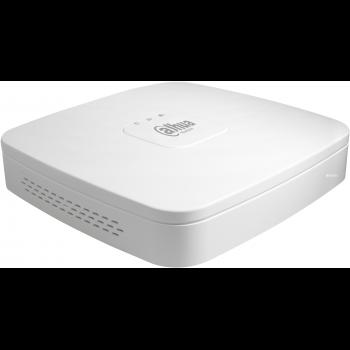 IP Видеорегистратор DAHUA DHI-NVR2104-4KS2 4-х канальный, до 8Мп, до 80Мбит/с, 1 HDD до 6Тб, HDMI, VGA, аудио вх./вых. 1/1