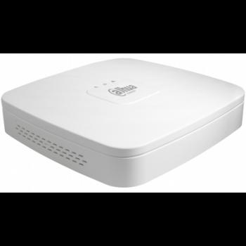 IP Видеорегистратор DAHUA DHI-NVR2104-P-4KS2 4-х канальный, до 8Мп, до 80Мбит/с, 1хHDD до 6Тб, 4 PoE порта, HDMI, VGA, аудио вх./вых, 2 порта USB2.0