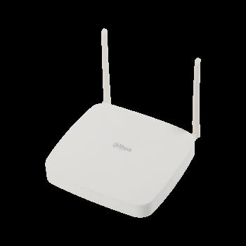 IP Видеорегистратор Dahua DHI-NVR2104-W-4KS22 4-х канальный 4K, до 8Мп, до 80Мбит/с, 1 HDD до 4Тб, HDMI, VGA, 2 порта USB2.0, DC12В