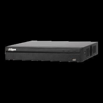 IP Видеорегистратор Dahua DHI-NVR2208-4KS2 8-ми канальный, до 8Мп, до 80Мбит/с, 2HDD до 6Тб, аудио вх./вых., HDMI, VGA, 2 порта USB2.0