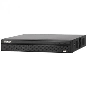 IP Видеорегистратор Dahua DHI-NVR4104HS-P-4KS2 4-х канальный 4К, 4 PoE порта до 8Мп, до 80Мбит/с, 1HDD до 6Тб, аудио вх./вых.