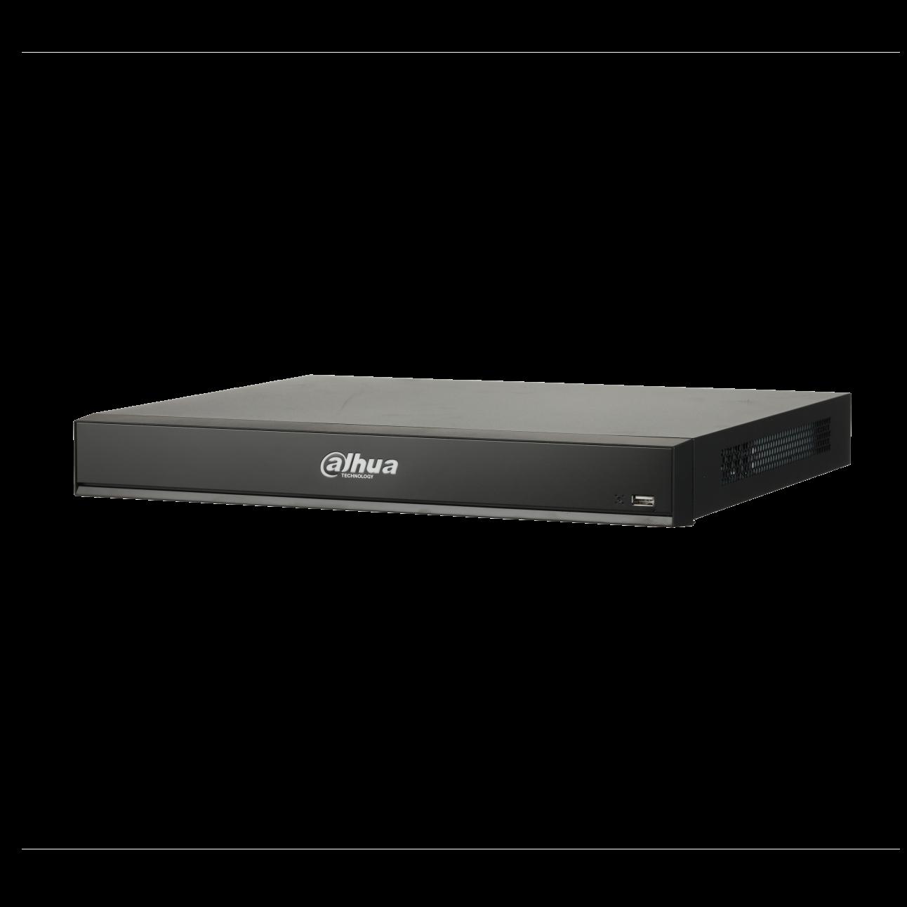 Интеллектуальный IP Видеорегистратор Dahua DHI-NVR4216-16P-I 16-и канальный 4K, 16 PoE портов, до 12Мп, 2 HDD до 8Тб, HDMI, VGA, 2 порта USB2.0