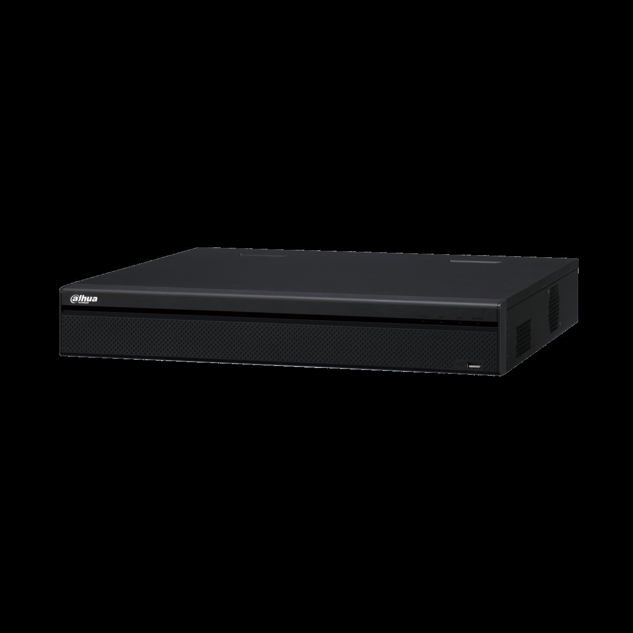 IP Видеорегистратор Dahua DHI-NVR5416-16P-4KS2E 16-и канальный 4K, 16 PoE портов, до 12Мп, 2 HDD до 10Тб, HDMI, VGA, 1 порт USB2.0, 2 порта USB3.0