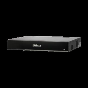 IP Видеорегистратор Dahua DHI-NVR5432-16P-I 32-х канальный 4K, 16 PoE портов, до 16Мп, 4 HDD до 8Тб, 2 HDMI, VGA, 1 порт USB2.0, 2 порта USB3.0