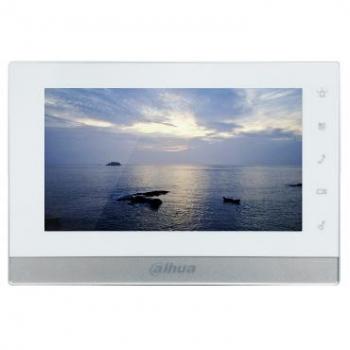 IP монитор для видеодомофона Dahua DHI-VTH1550CH 7 дюймов, 10/100mb, 6 тревожных входов, поддержка PoE, поддержка SD карт (уценка)